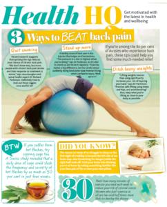 3 ways to beat back pain